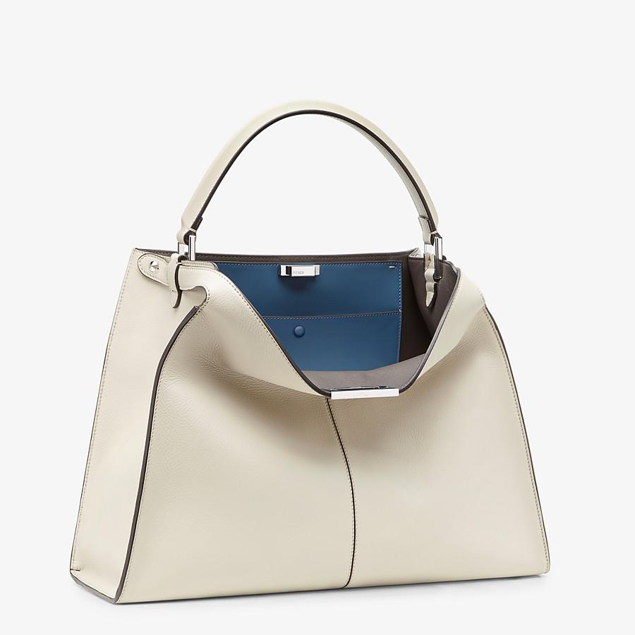 FENDI PEEKABOO X-LITE LARGE - White leather bag - view 3 detail