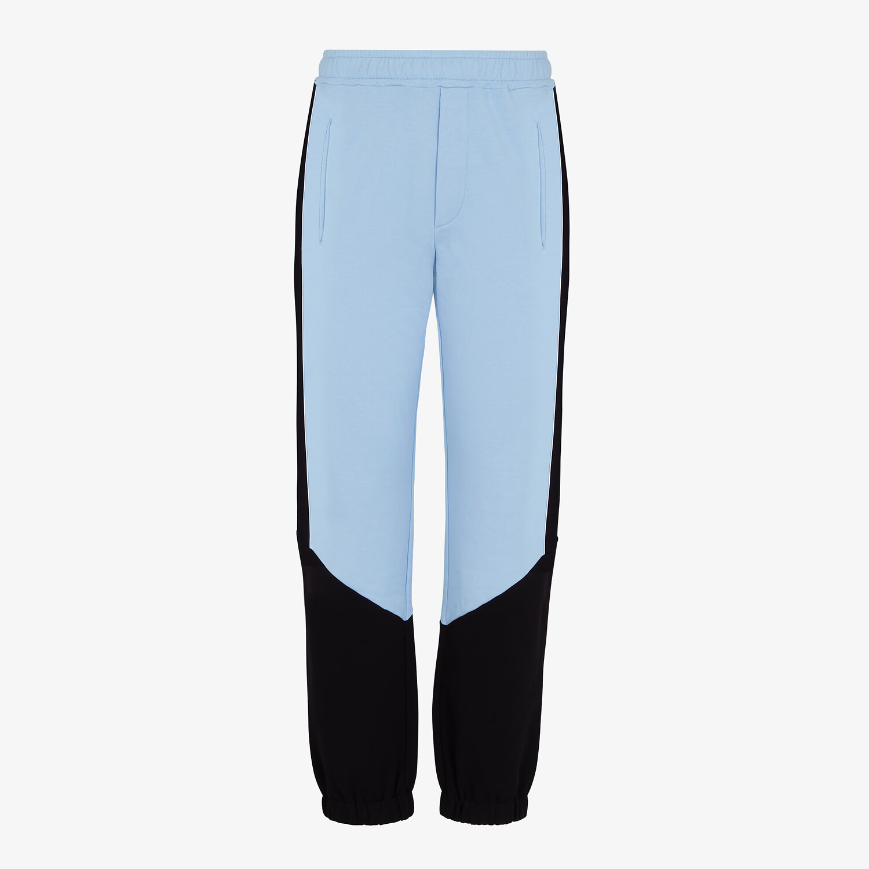 FENDI PANTS - Multicolor jersey pants - view 1 detail