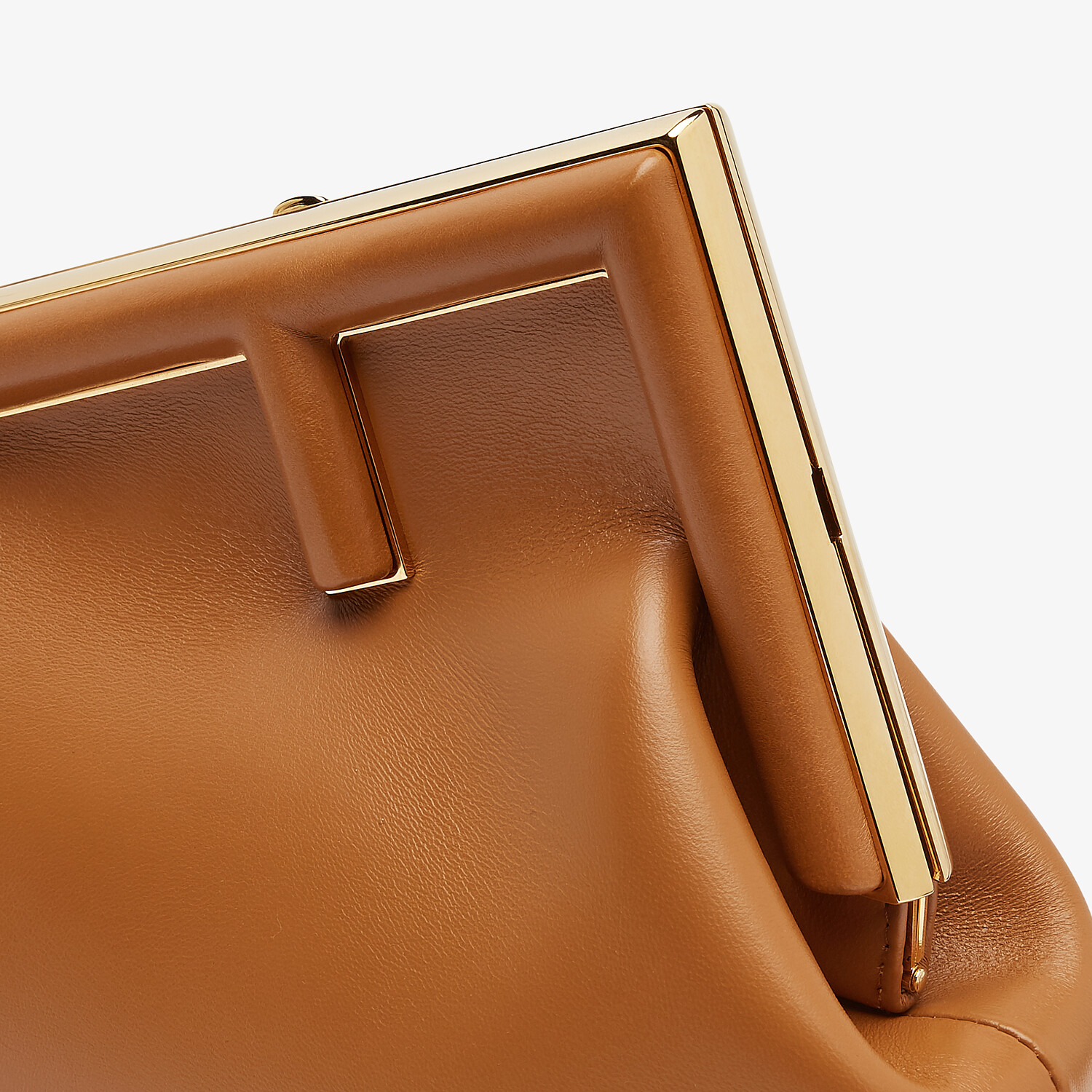 FENDI FENDI FIRST SMALL - Brown leather bag - view 5 detail