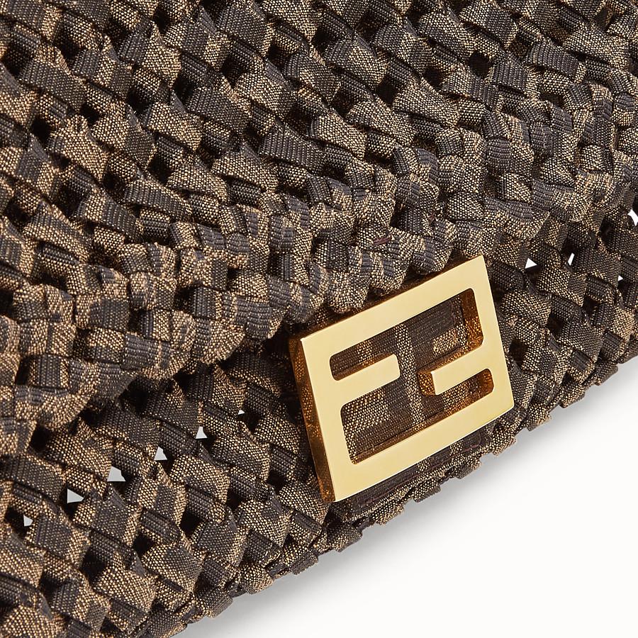 FENDI BAGUETTE - FF jacquard interlace bag - view 6 detail