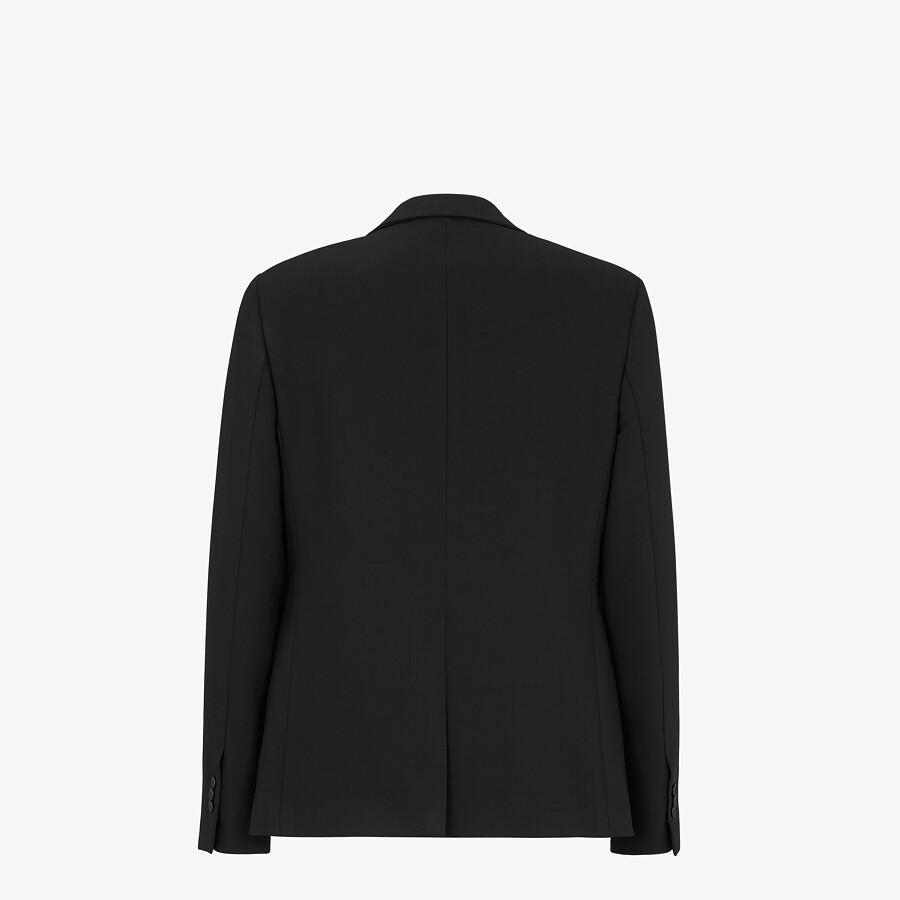 FENDI JACKET - Black wool blazer - view 2 detail