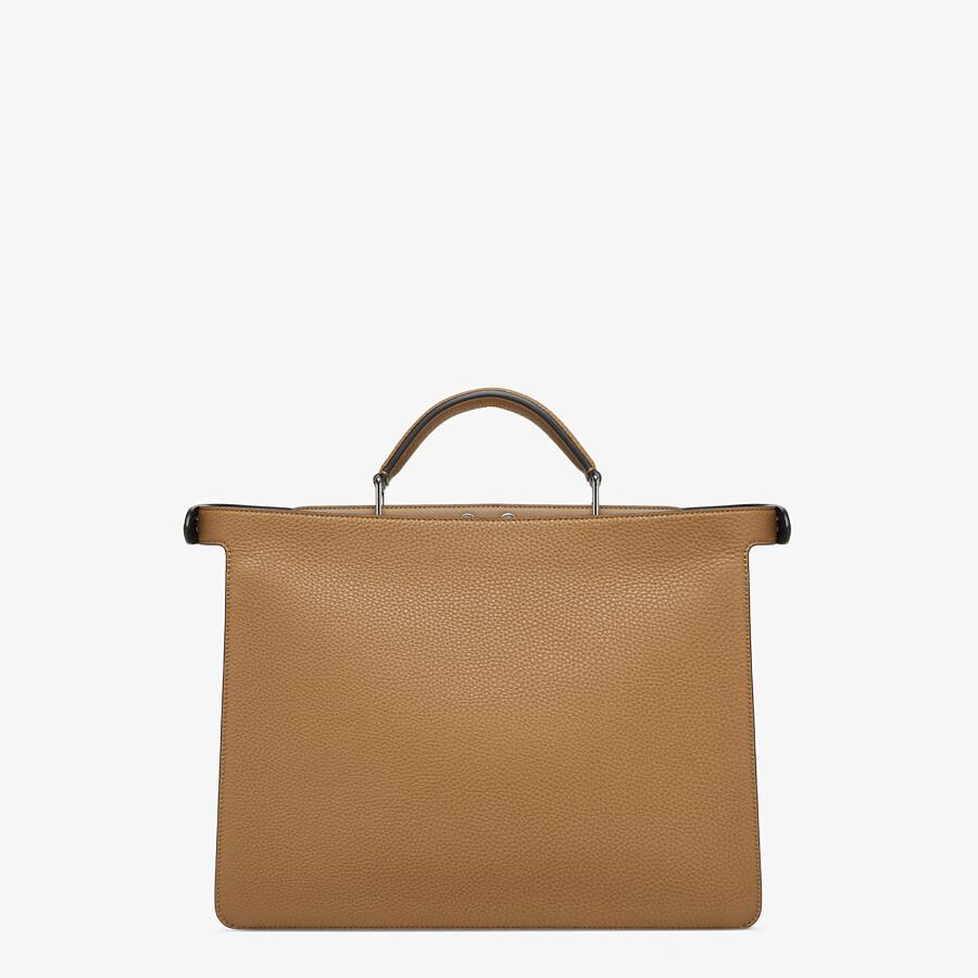 FENDI PEEKABOO ISEEU MEDIUM - Beige leather bag - view 4 detail