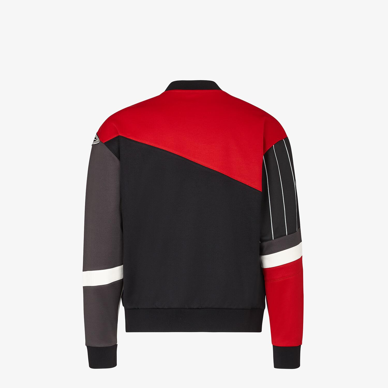 FENDI SWEATSHIRT - Multicolour cotton sweatshirt - view 2 detail