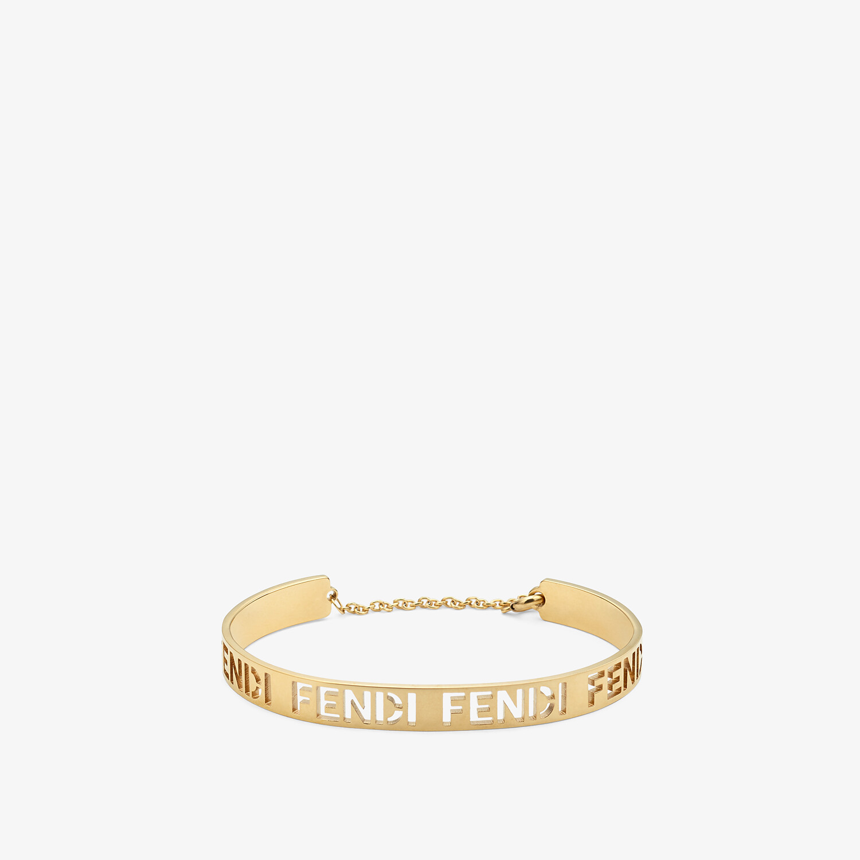 FENDI BRACELET - Gold-colored bracelet - view 1 detail