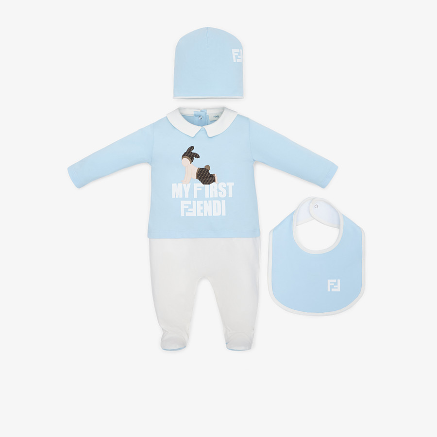 FENDI BABY'S KIT - Multicolour cotton baby kit - view 1 detail