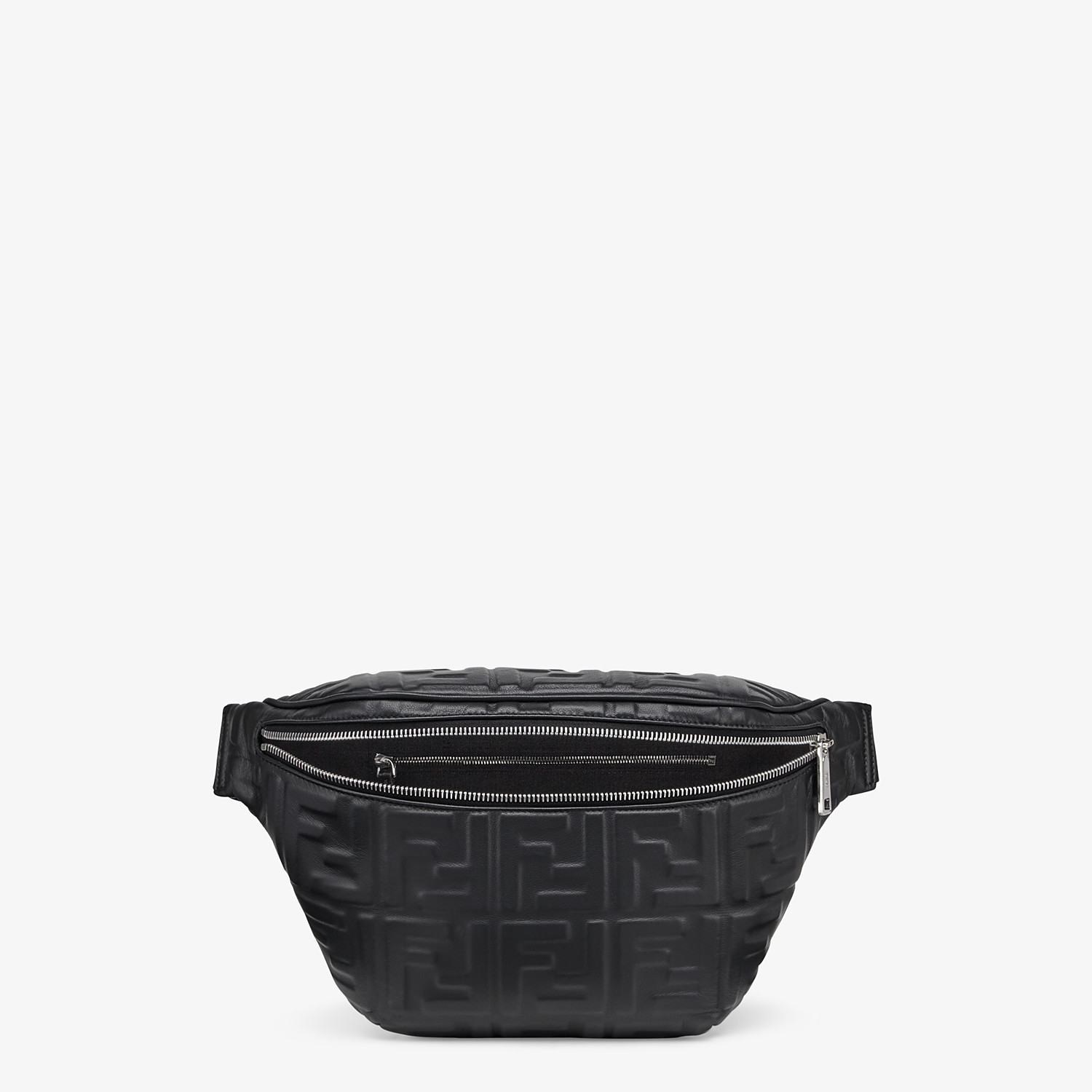 FENDI BELT BAG - Black nappa leather belt bag - view 4 detail