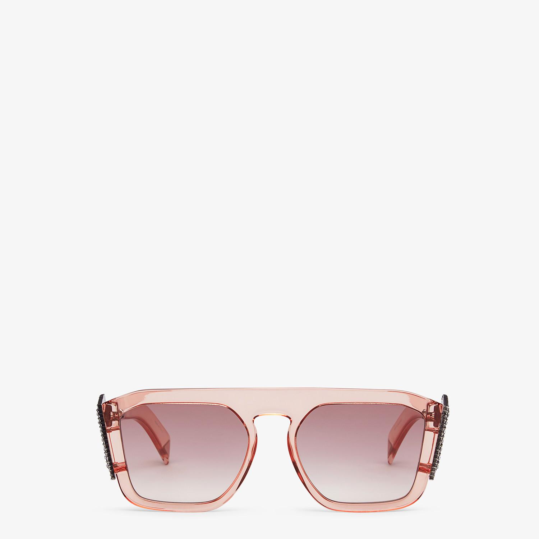 FENDI FFREEDOM - Pink sunglasses - view 1 detail