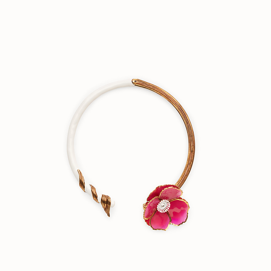 FENDI CHOKER FLOWERS - Collier multicolore - view 1 detail