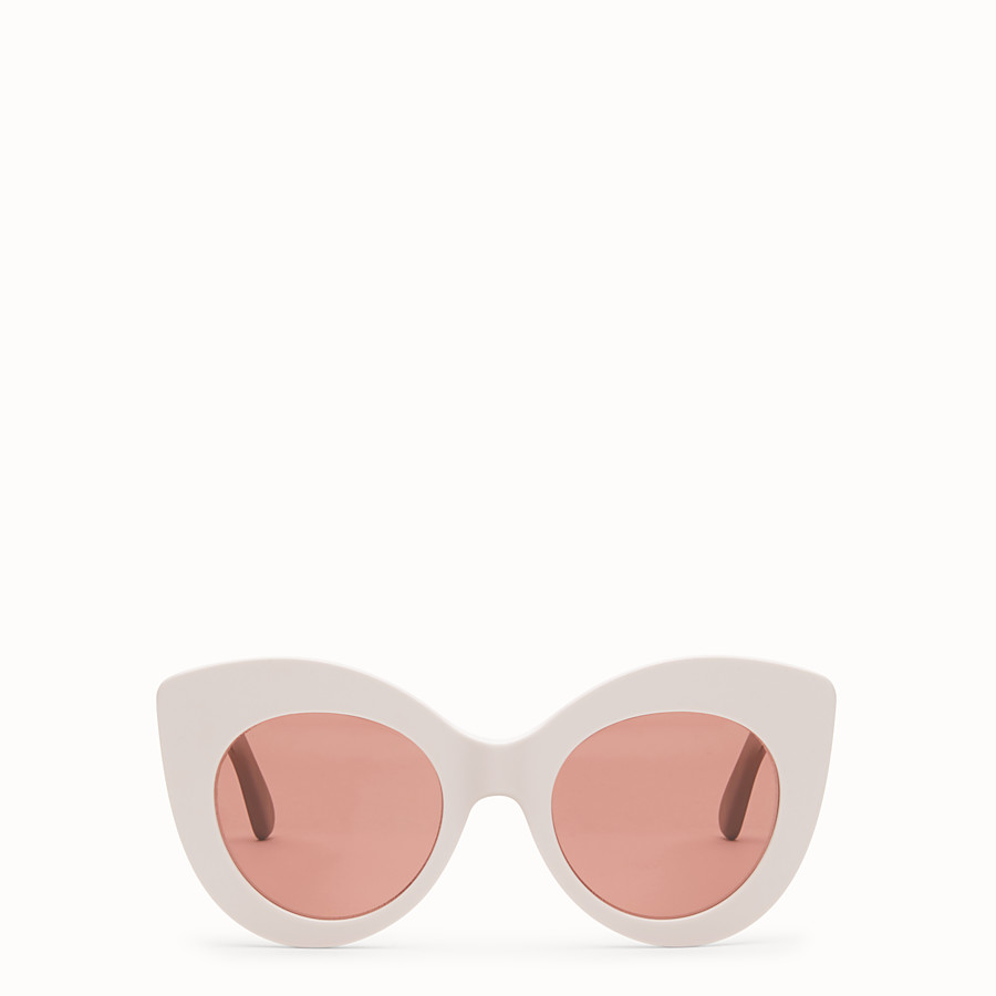 FENDI F IS FENDI - Pink and mauve sunglasses - view 1 detail