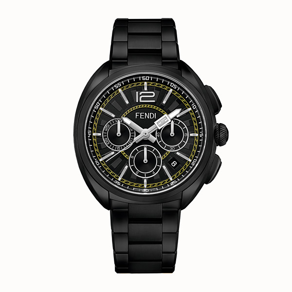 FENDI MOMENTO FENDI - 46 mm - Chronograph mit Metallarmband - view 1 small thumbnail