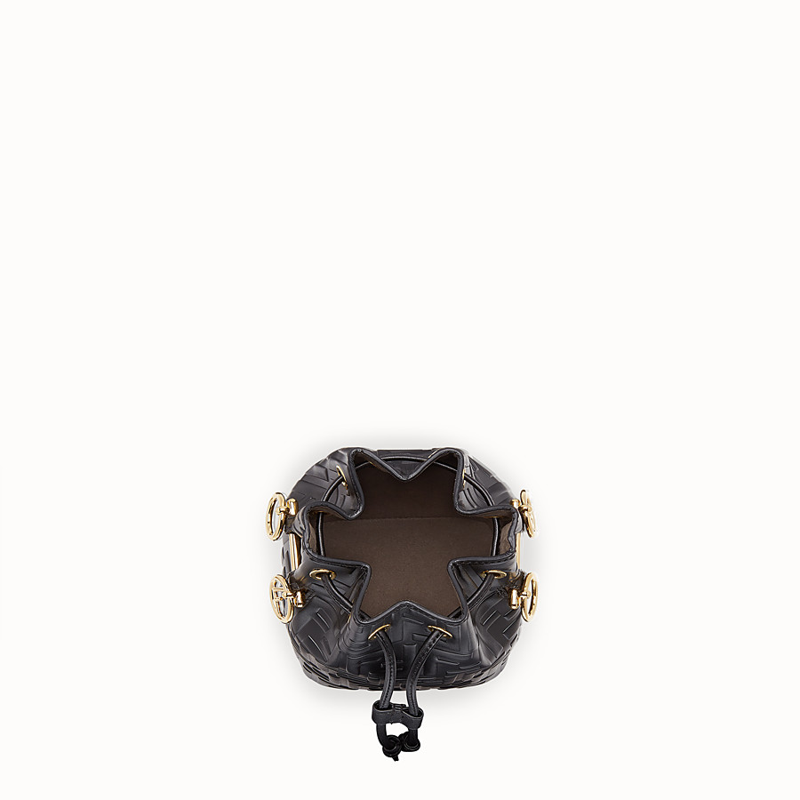 FENDI MON TRESOR - Black leather mini-bag - view 5 detail