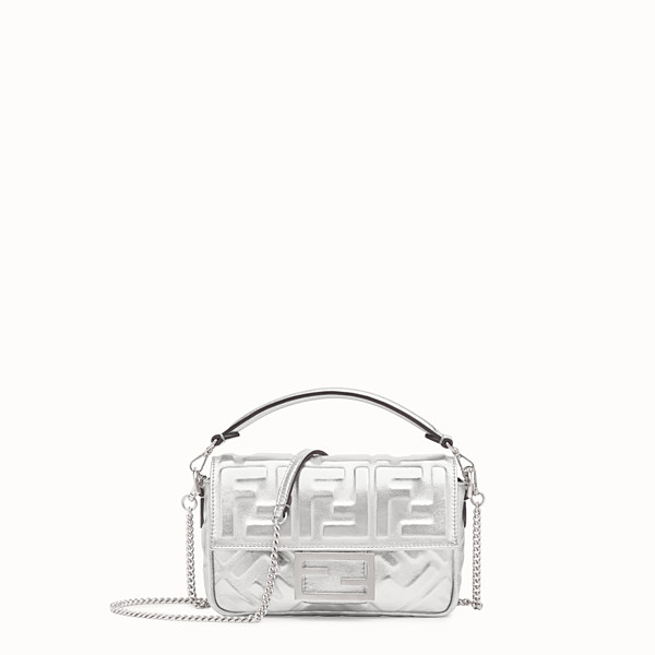 FENDI BAGUETTE MINI - Borsa Fendi Prints On in pelle - vista 1 thumbnail piccola
