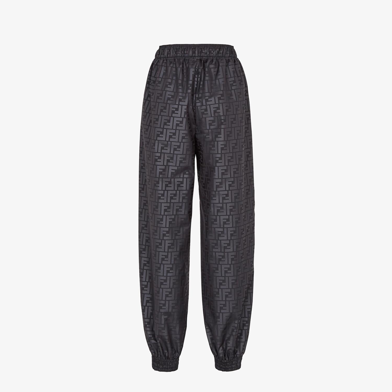 FENDI PANTS - Black sports pants - view 2 detail