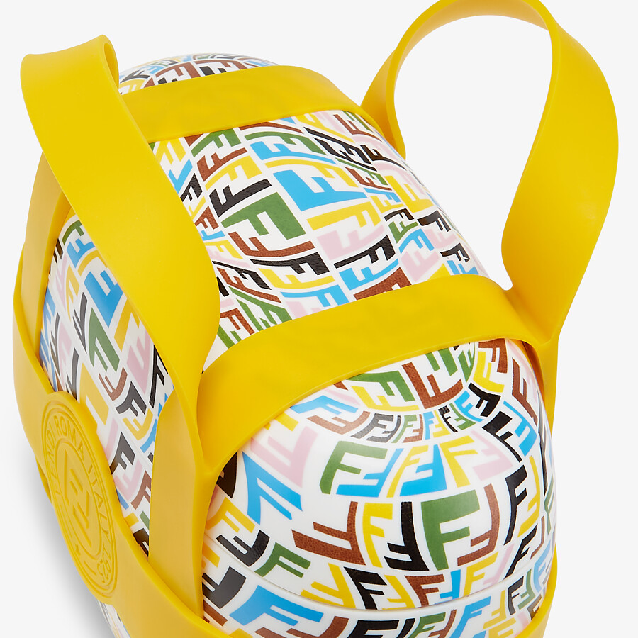 FENDI FOOD CARRIER - Multicolor fabric food carrier - view 2 detail