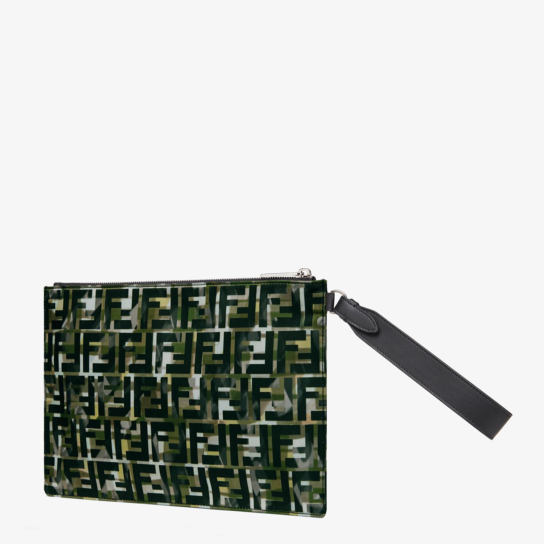 FENDI POUCH - Multicolour nylon pochette - view 2 detail