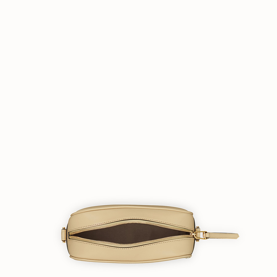 FENDI CAMERA CASE - Beige leather bag - view 4 detail
