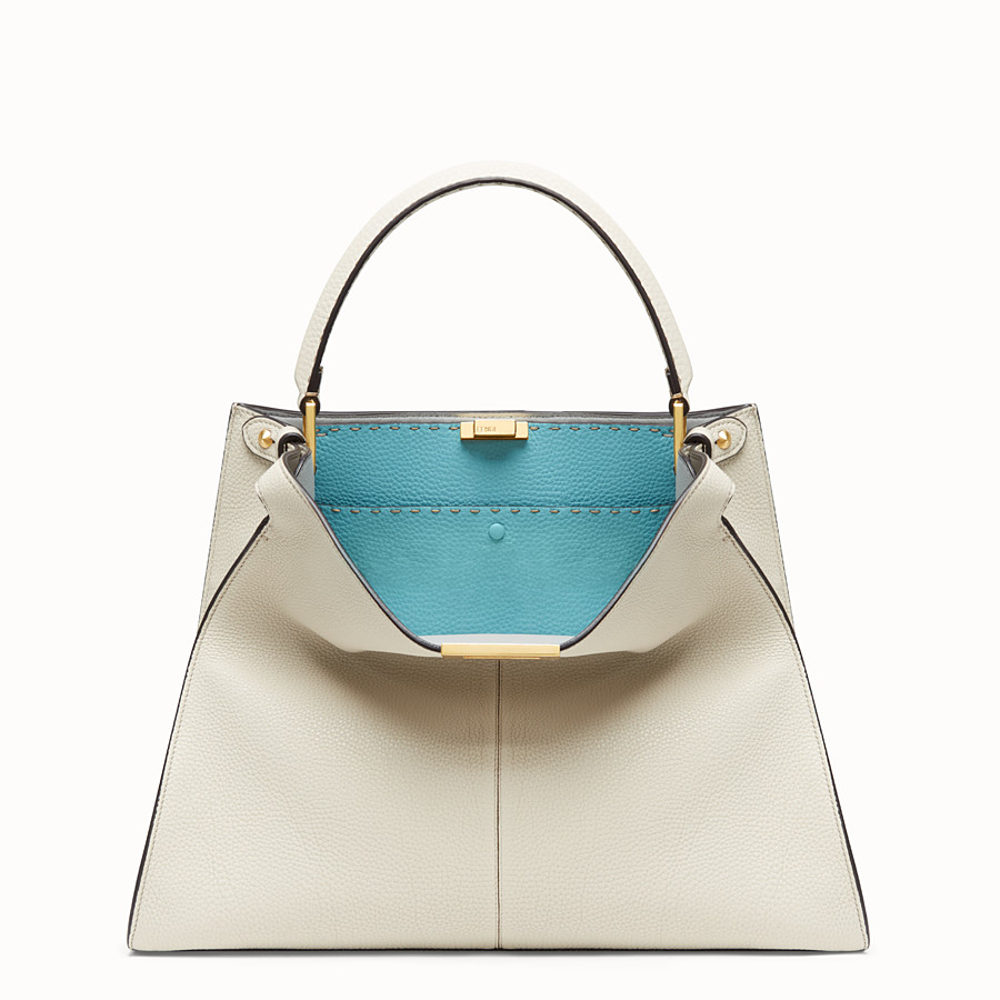 FENDI PEEKABOO X-LITE LARGE - Fendi Roma Amor leather bag - view 3 detail