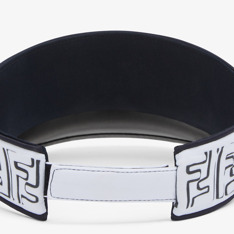 FENDI VISOR - White Lycra® visor - view 2 detail
