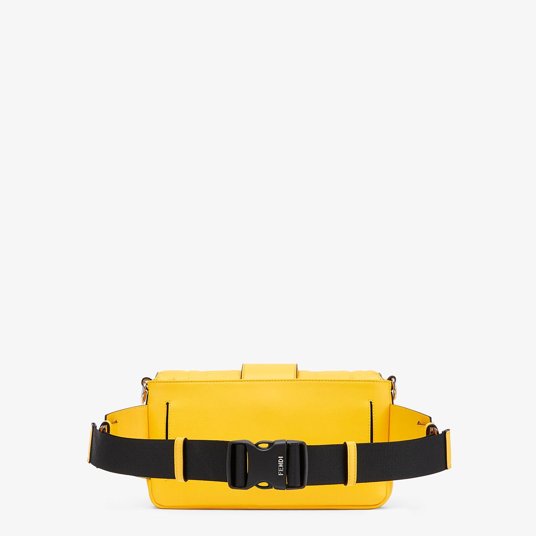 FENDI BAGUETTE - Yellow nappa leather bag - view 3 detail