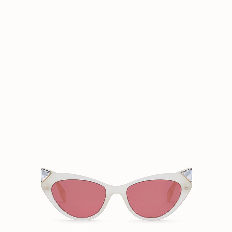 FENDI IRIDIA - Yellow opal sunglasses - view 1 detail