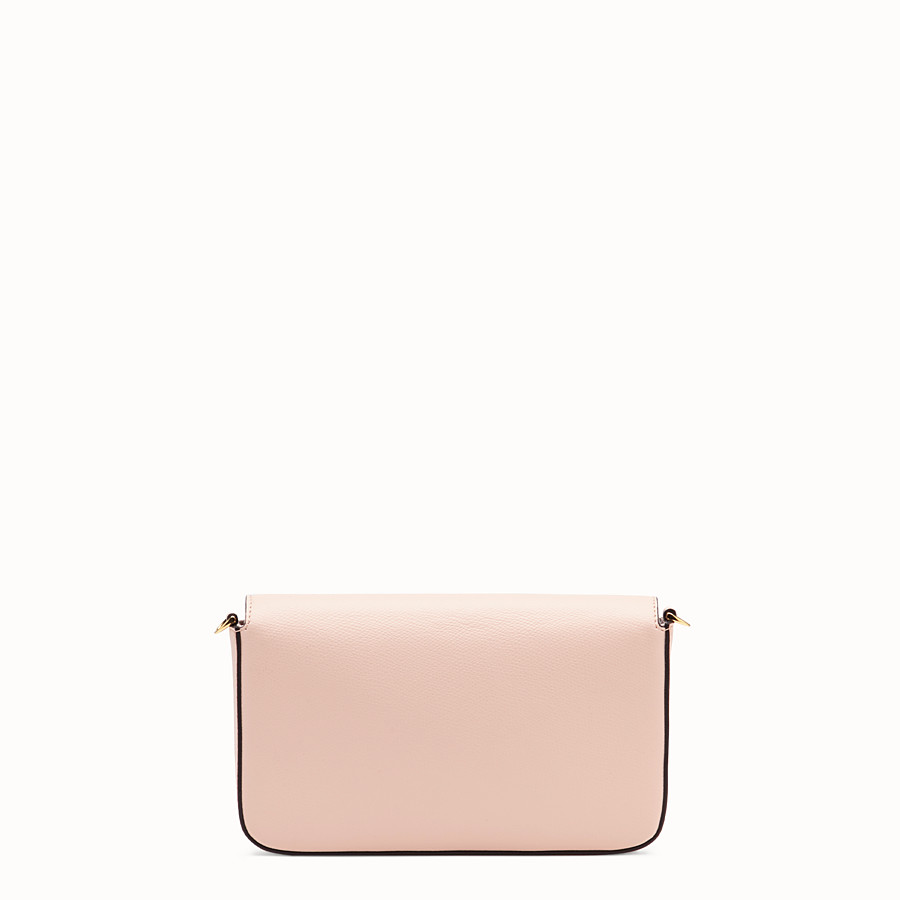 FENDI WALLET ON CHAIN WITH POUCHES - Pink leather minibag - view 5 detail
