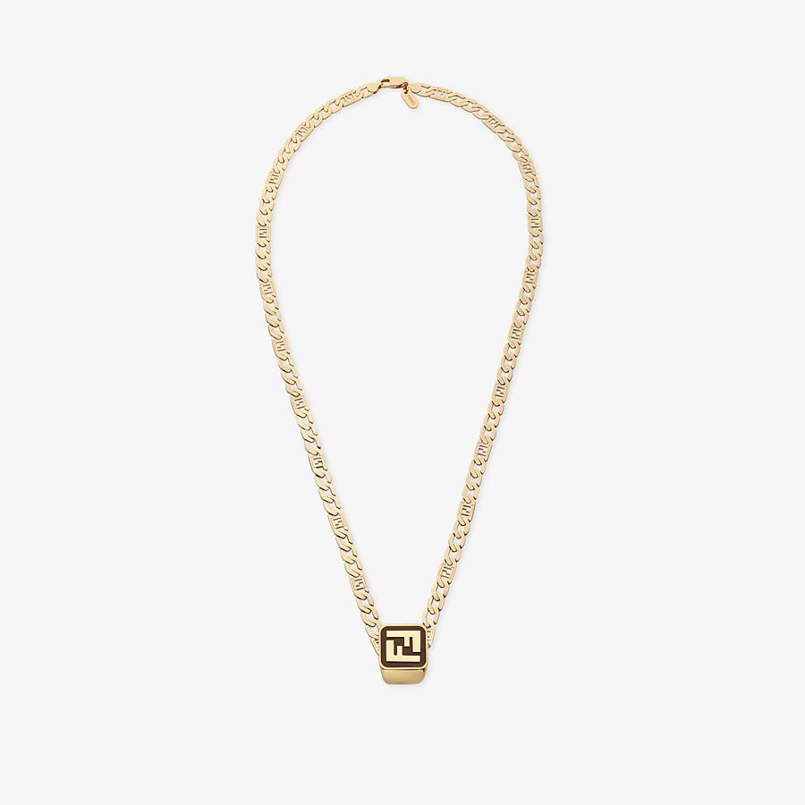 FENDI BAGUETTE HALSKETTE - Halskette Goldfarben - view 1 detail