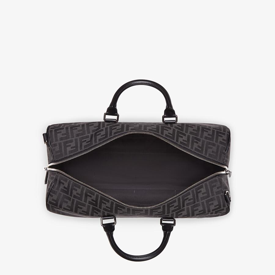 FENDI MEDIUM DUFFLE - FF jacquard fabric large bag - view 4 detail