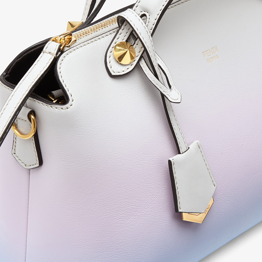 FENDI BY THE WAY MEDIUM - Leather Boston bag in graduated colours - view 6 detail
