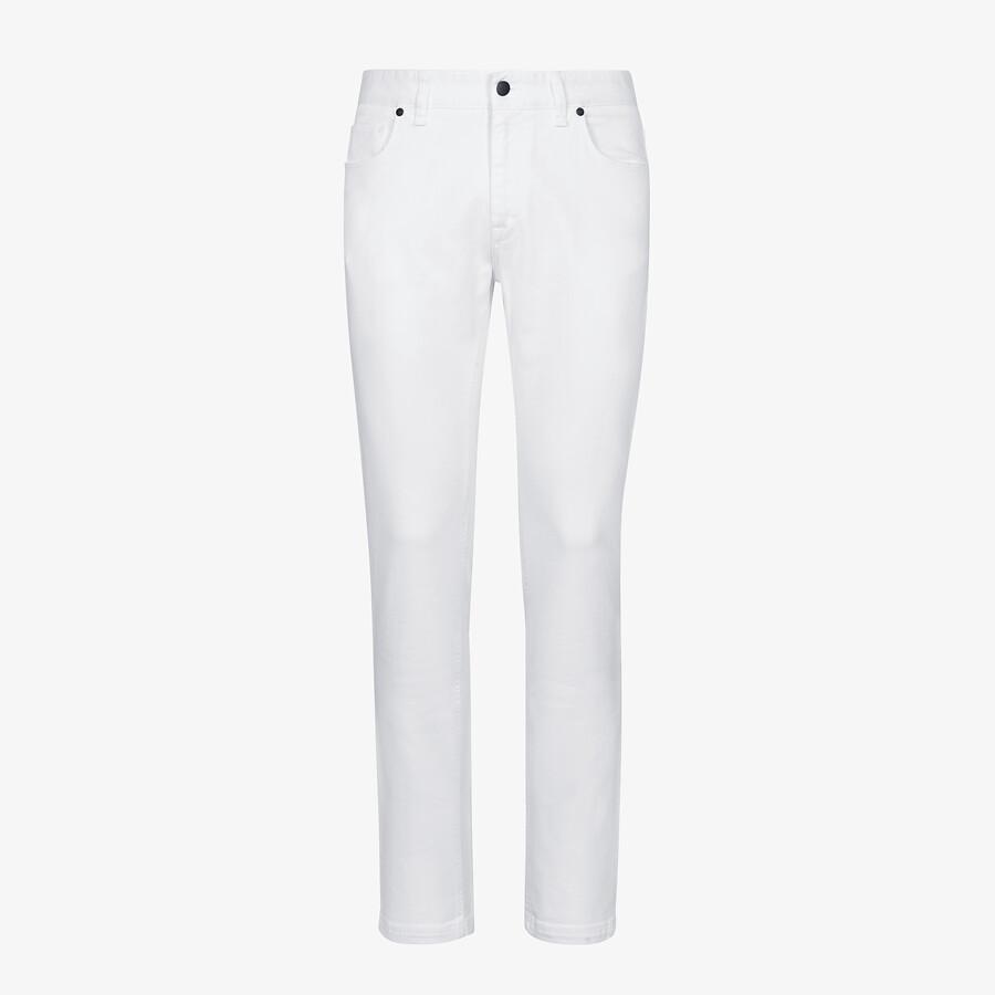 FENDI DENIM - Fendi Roma Joshua Vides denim jeans - view 1 detail