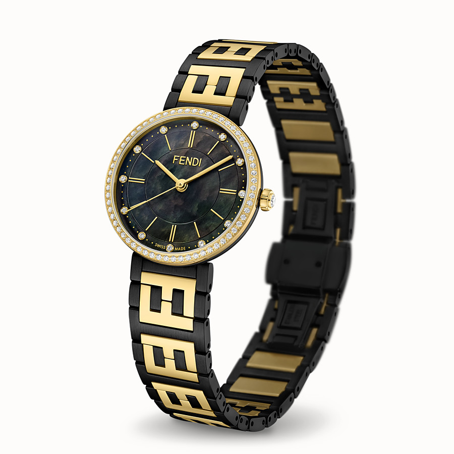 FENDI FOREVER FENDI - 29 MM - Watch with FF logo bracelet - view 2 detail