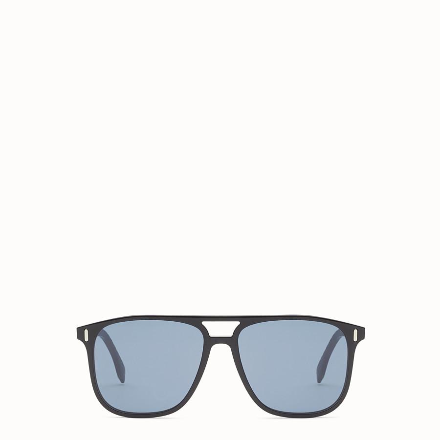 FENDI FENDI - Black and light grey sunglasses - view 1 detail