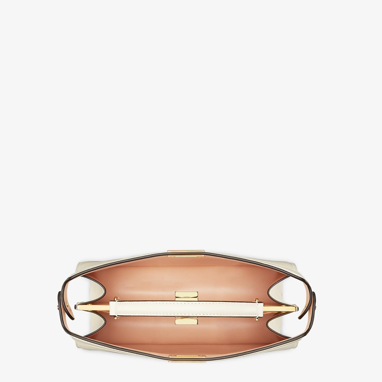 FENDI PEEKABOO ISEEU EAST-WEST - Pink leather bag - view 5 detail