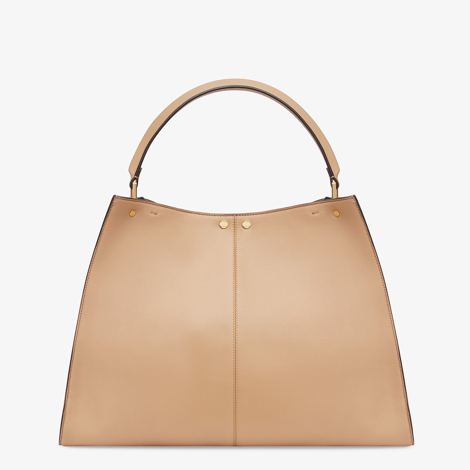 FENDI PEEKABOO X-LITE LARGE - Brown leather bag - view 5 detail