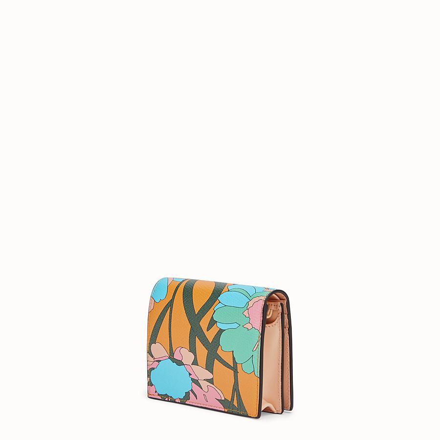 FENDI SMALL WALLET - Portafoglio in pelle multicolor - vista 2 dettaglio