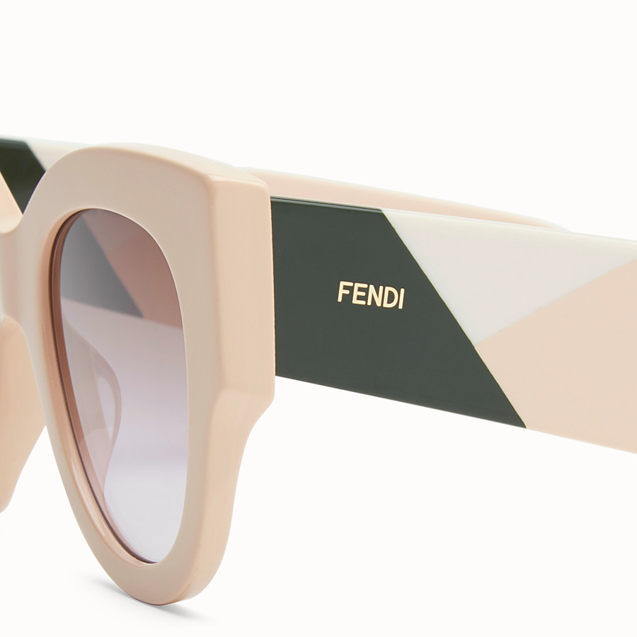 FENDI FENDI FACETS - Pink sunglasses - view 3 detail