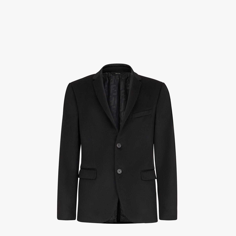 FENDI JACKET - Black cashmere blazer - view 1 detail