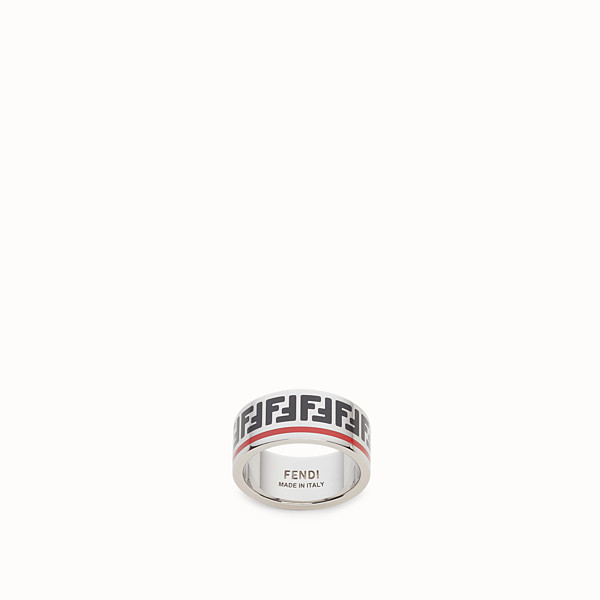 FENDI RING - Silver coloured ring - view 1 small thumbnail