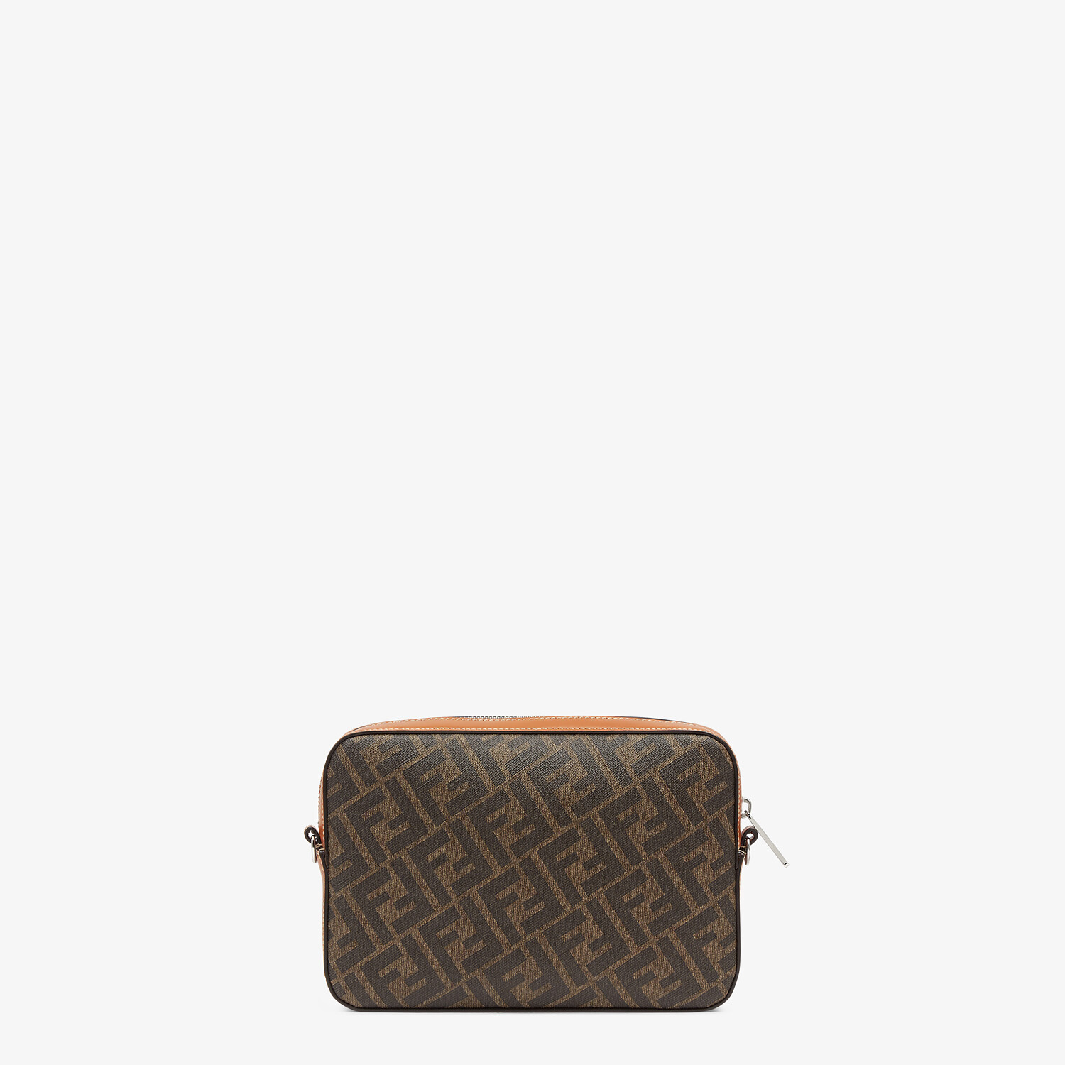 FENDI CAMERA CASE - Brown fabric bag - view 3 detail