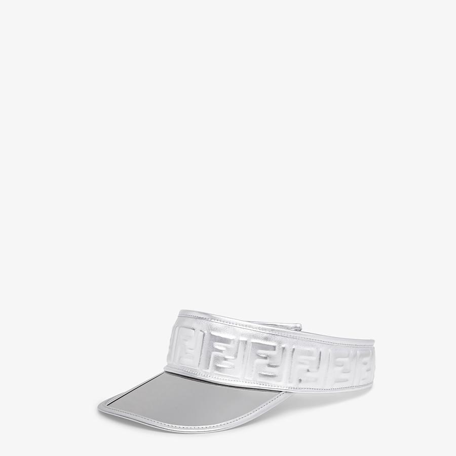 FENDI VISOR - Fendi Prints On leather visor - view 1 detail