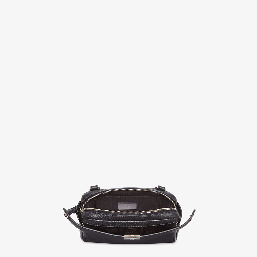 FENDI BELT BAG - Black leather belt bag - view 6 detail