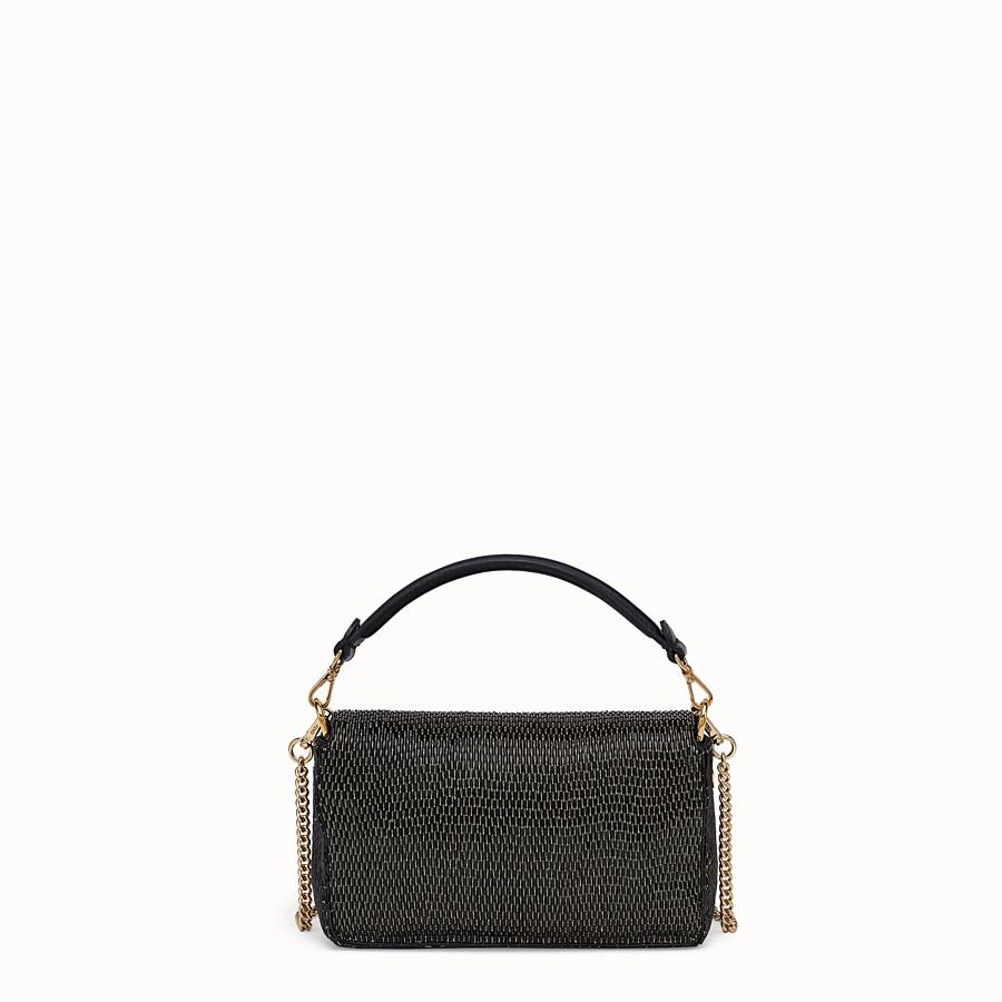 FENDI BAGUETTE - Tasche aus Leder in Schwarz - view 4 detail