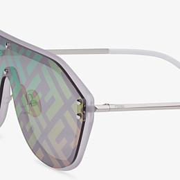 FENDI FENDI FABULOUS - Gafas de sol blancas - view 3 thumbnail
