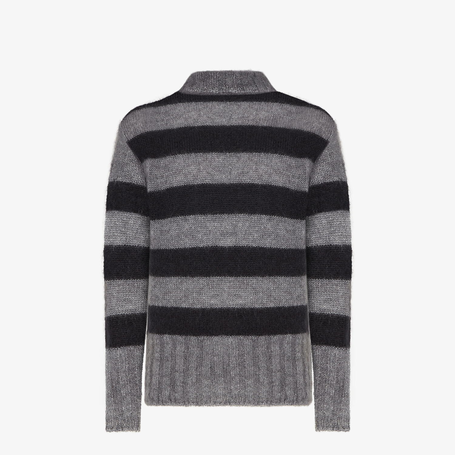 FENDI PULLOVER - Multicolor mohair pullover - view 2 detail
