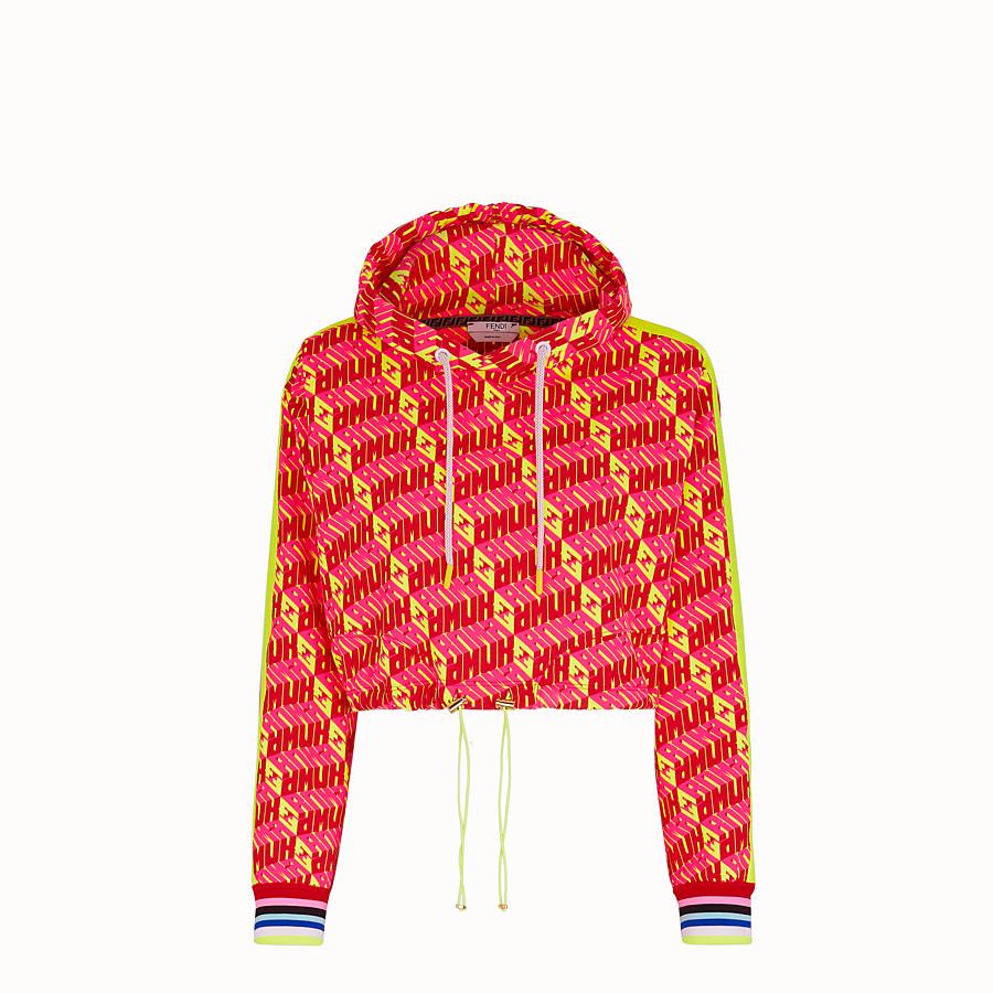 FENDI SWEATSHIRT - Fendi Roma Amor cotton sweatshirt - view 1 detail