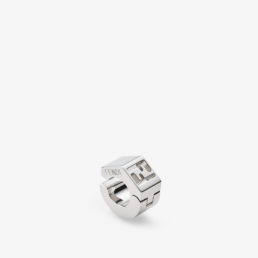FENDI EARRING - Silver-colored earring - view 1 detail