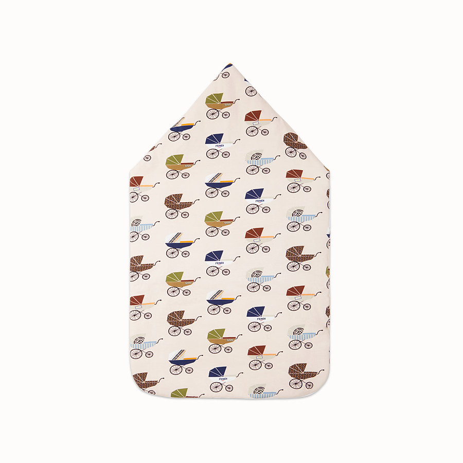 FENDI BABY SLEEPING BAG - Multicolour jersey sleeping bag - view 2 detail