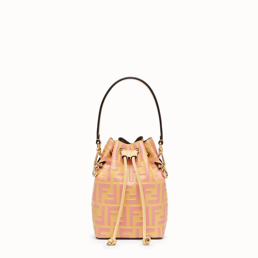 FENDI MON TRESOR - Minibag in pelle beige - vista 1 dettaglio