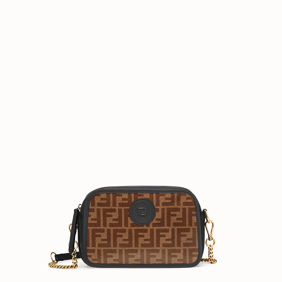 FENDI CAMERA CASE - Tasche aus Stoff in Braun - view 1 detail