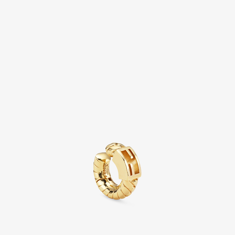 FENDI BAGUETTE EARRING - Gold-colour earring - view 1 detail