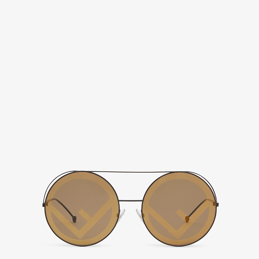 FENDI RUN AWAY - Brown sunglasses - view 1 detail